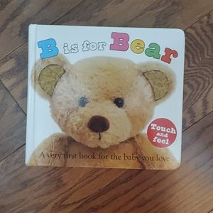 (4/$25 with bundle) Baby book: B is for Bear
